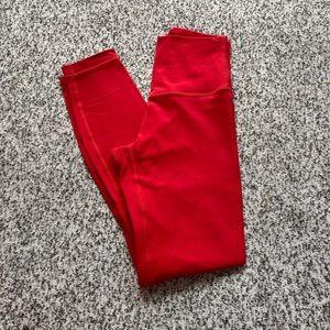 "Lululemon align size 2 25"" dark red"